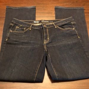 Mossimo stretchy jeans. Boot cut.
